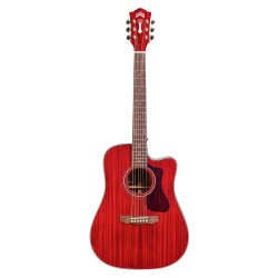 Guild D-120CE Westerley Cherry Red