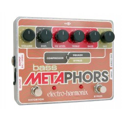 ELECTRO-HARMONIX Bass Metaphors Preamp-EQ-Distorsion-Compresor-DI