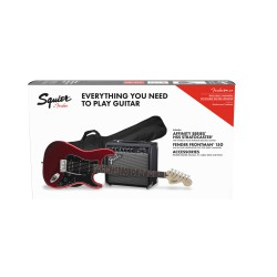 FENDER SQUIER Pack Affinity Stratocaster HSS Candy Apple Red