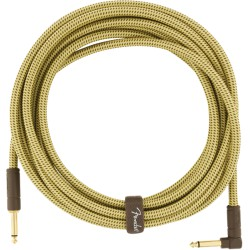 Fender Deluxe Series Cable Instrumento 5.5m acodado Tweed