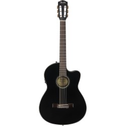 Fender CN-140SCE Black w/case