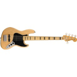 Fender Squier Classic Vibe 70 Jazz Bass V Natural