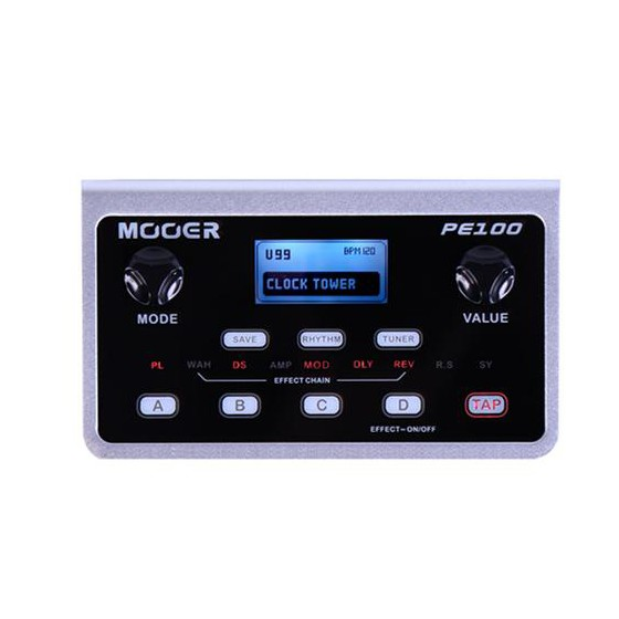 Mooer PE100 Portable Guitar Effect