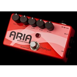 PIGTRONIX Aria Disnortion Diode Overdrive + 3 bandas EQ