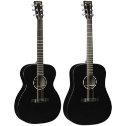 MARTIN DXAE Black Electroacoustic Guitar