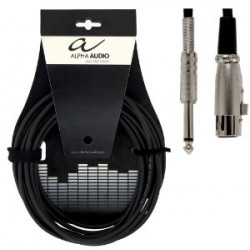 Alpha Audio Cable Micro Jack Stereo - XLR 3 mtrs