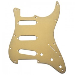 Fender Golpeador SSS Para Stratocaster Gold Anodized