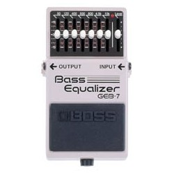 BOSS GEB-7 Graphic Bass Equalizer
