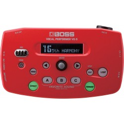 BOSS VE-5 Red Vocal Performer