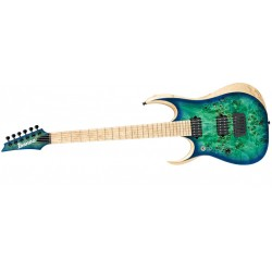 Ibanez RGDIX6MPBL-SBB Iron Label LH Surreal Blue Burst