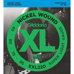Daddario EXL220 40-95 Nickel